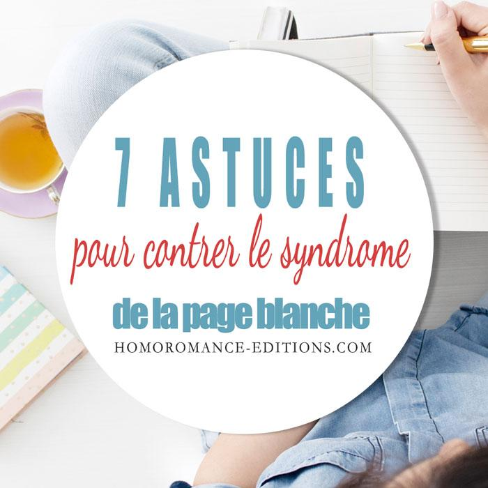 7 Astuces Page Blanche
