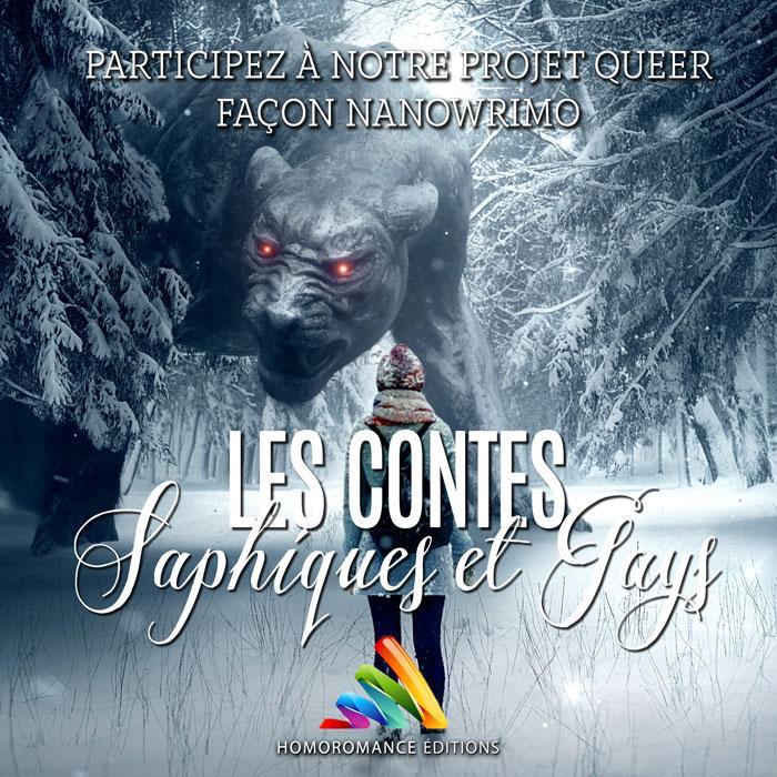 Pour sa nouvelle collection Queer: Contes saphiques et gays